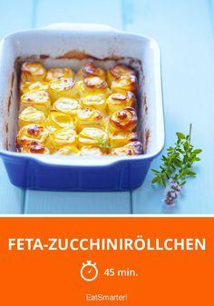 Feta-Zucchiniröllchen - smarter - Zeit: 45 Min. | eatsmarter.de