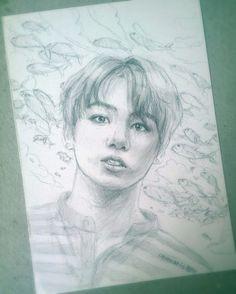Jungkook sketch