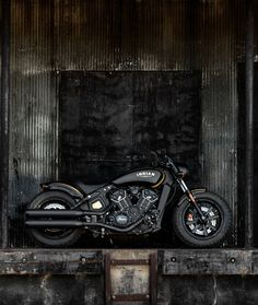 The Jack Daniel's Tennessee Whiskey Limited Edition Indian Scout Bobber celebrates the heart and soul of the Jack Daniel's Fire Brigade.
