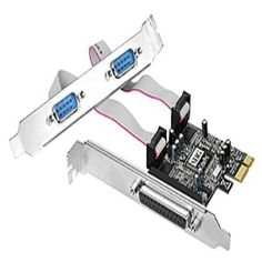 PCIe card with 2 serial and 1 parallel port Monitor For Photo Editing, Monitor Lizard, Monitor Speakers, Aleta, Mac Mini, Computer Technology, Card Reader, Security Camera, Computer Accessories