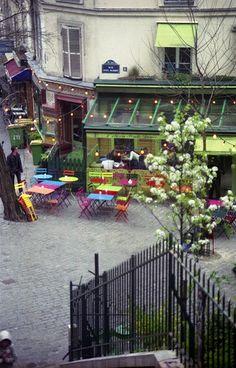 L'été en pente douce, Montmartre, Paris