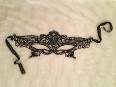 Black #ABRhinestone #Masquerade Ball #Mask. #Burlesque #Cabaret #Vintage #Costume #EmpireMiniTopHats