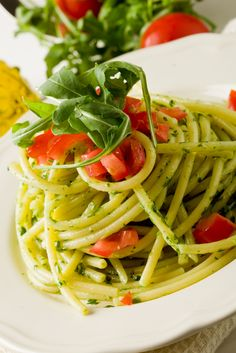 2 Fast Pastas: Pesto Pasta or Marinara Pasta #skinnyms #cleaneating #pasta #recipes