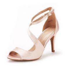 4bf668e803e DREAM PAIRS Women s NILE Fashion Stilettos Open Toe Wedding Pump Heel  Sandals  DREAMPAIRS  HeeledSandals