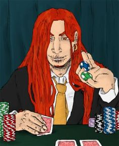 I've been thinking about this novel off and on and I swear Himself led me to the bingo chip I found today. Gambling is gambling, I suppose. https://lokisbruid.wordpress.com/2013/05/16/check-his-hand-cause-hes-marvelous-lokis-poker-face/