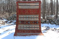 Vintage Moroccan Berber Handwoven Rug Custom Candles, Unique Rugs, Beeswax Candles, Berber Rug, Sheep Wool, Little Gifts, Moroccan, Bohemian Rug, Hand Weaving