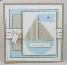 stampin up baby cards