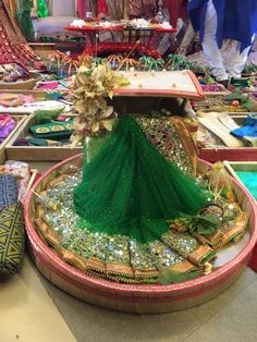 Saree packing can be quite tricky as it is done in so many ways. You can go as creative as you want doing it, and can also explore various arts and craft materials like ribbons, basket, fancy flowers etc. to use on your packaging ideas. Here are a few ideas on Threads. #saree #culture #Threads