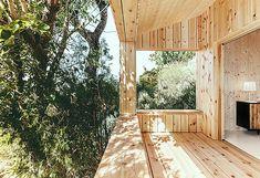 Galería - Casa estudio de madera / Dom Arquitectura - 12