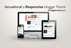 sensational blogger template