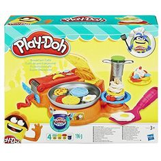 Play-Doh Breakfast Cafe Play-Doh Create an epic Play-Doh breakfast with wacky waffles, pretend bacon, and Little Girl Toys, Cool Toys For Girls, Kids Toys For Christmas, Christmas Fun, Brinquedos Play Doh, Dango Peluche, Hasbro Play Doh, Dibujos Toy Story, 3 Year Old Boy
