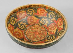 The history of Norwegian decorative painting – rosemaling