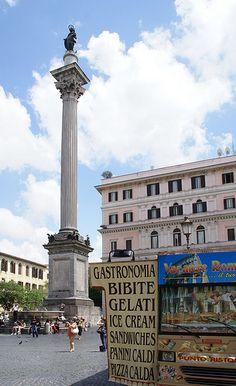 Rom, Piazza di Santa Maria Maggiore, Colonna della Pace (column of peace)