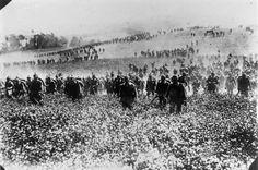 1914 - German Infantry Advancing into Belgium