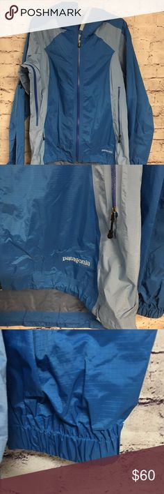 "Patagonia Patagonia Rain Shell in Size XL. Amazing condition rain coat. Folds up small for easy storage. Armpit to hem is 23"". Has under arm side zippers to allow some flow of air.  Fast shipping, bundle discount available. Patagonia Jackets & Coats Utility Jackets"
