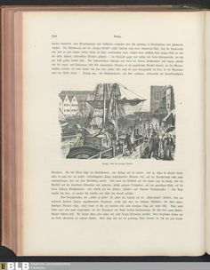 446 [318] - Illustration: Danzig. Auf der Langen Brücke - Seite - Inhouse-Digitalisierung - BLB Karlsruhe