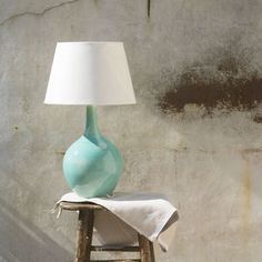 Ceramic Onion Lamp - bedside lamps