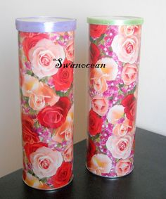 Upcycled Pringle Cans