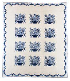 Blue Basket circa  1950.  IQSCM exhibition