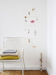 DIY: Pure + Natural Spring Mobile - decor8