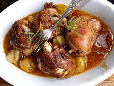Pork Hock, Buffalo Chicken, Food Inspiration, Poultry, Food And Drink, Turkey, Potatoes, Vegetables, Cooking