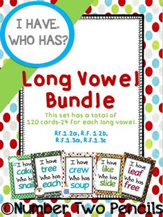 73 Best Word Work~ Long Vowels images in 2016 | Long vowels