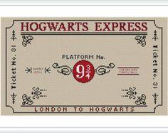 Harry Potter cross stitch pattern Ron Hermione PDF por Xrestyk