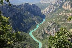 Les gorges du Verdon, France