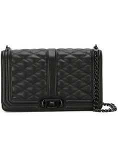 Shop Rebecca Minkoff 'Love' quilted crossbody bag.