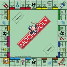 Printable Monopoly Board