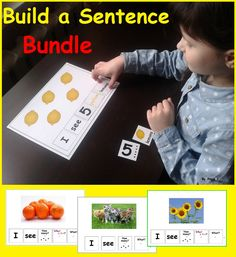 Sentence Building for Speech Therapy Autism and Special Needs, Speech Therapy -What? What color? Purchase this BUNDLE and SAVE more than off each product! This BUNDLE contains 12 of my products. Art Therapy Activities, Language Activities, Autism Activities, Color Activities, Sorting Activities, Therapy Ideas, Esl, Special Education Classroom, Autism Classroom