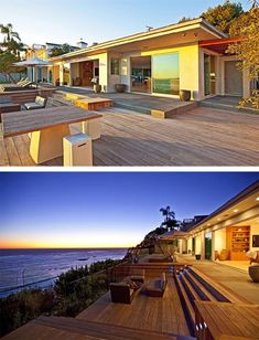 I'd love a Malibu home like this