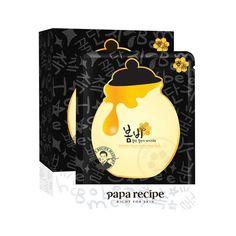 Papa Recipe Bombee Honey Mask Pack, Black, 10 Each Anti Aging Mask, Anti Aging Skin Care, Olive Oil Skin, Olive Oils, Papa Recipe, Black Honey, Dark Circles Under Eyes, Sensitive Skin Care, Cool Stuff