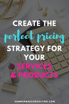 Create the perfect pricing strategy for your services & products. Perfect for virtual assistants and freelancers