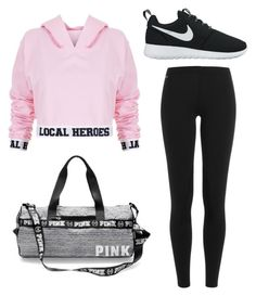 """""""Untitled #213"""" by lignonolivia on Polyvore featuring Local Heroes, Polo Ralph Lauren and NIKE"""