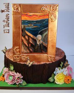 """""""El Grito"""" Edvard Munch. Colaboración Primavera con Arte by El Tartero Real"""