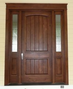 exterior front doors with sidelights | Exterior Doors