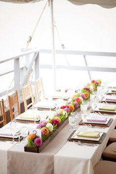 Montauk Wedding from Joshua Zuckerman Photography + jill gordon celebrate | Style Me Pretty