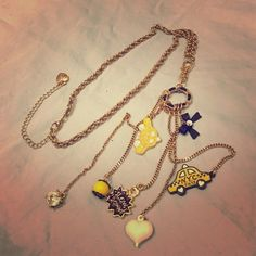 Betsey Johnson necklace. Taxi cab long necklace. Betsey Johnson. 100% authentic. Sold as is. No damage anywhere. NEVER WORN  Betsey Johnson Jewelry Necklaces