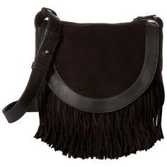 Frye Ray Fringe Saddle (Black) Handbags (25.550 RUB) ❤ liked on Polyvore featuring bags, handbags, shoulder bags, fringe handbags, boho handbags, fringe purse, bohemian handbags and shoulder strap handbags