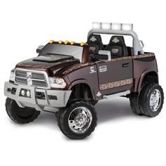 Dodge Ride On Toys | ... Dually Longhorn Edition 12-Volt Battery-Powered Ride-On, Mossy Oak