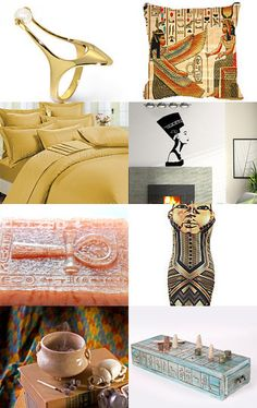 UNIQUE EGYPTIAN THEMED PRODUCTS:  Sands of Time ~ by Chenoa Ellinghaus -- Pinned with TreasuryPin.com