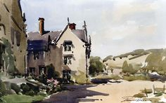 Edward Wesson   WATERCOLOR