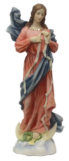 Regina's Catholic Gifts - Our Lady Undoer of Knots, hand-painted in full color, $85.00 (http://www.reginascatholicgifts.com/our-lady-undoer-of-knots-hand-painted-in-full-color/)