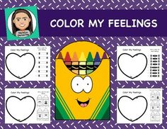 """""""How are you feeling?""""....""""Fine"""" Want more in depth information on how kids are feeling? Help kids explore and identify their emotions. Emotions are very abstract and often hard to identify, however this activity takes those abstract feelings and finds a way to help them explore them in a more concrete way, making it easier"""