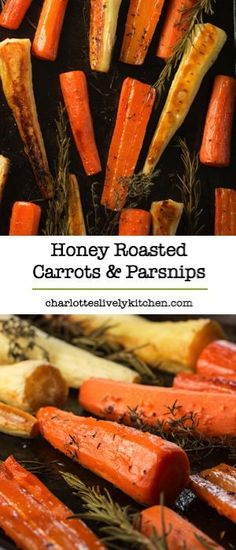 Honey roasted carrot
