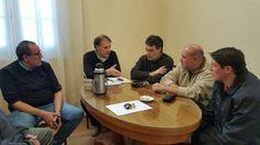 Municipio recibió a dirigentes del Sindicato del Papel