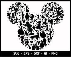 Mickey mouse SVG Minnie mouse SVG disney svg mickey head