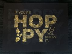 """""""If You're Hoppy & You Know It"""" © Amy Imdieke 24"""" x 18"""" 2-color, Screen Print  Amy is a designer and illustrator known for her love of to-do lists. She's a Senior Graphic Designer at Gaslight Creative and when she's not creating things or manning AAF Central MN as club president, you can find her performing with her hula hoop dance troupe called the Twistin Vixens."""