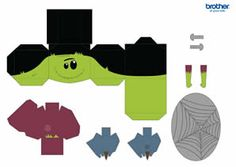 printable halloween decorations supplies free templates brother